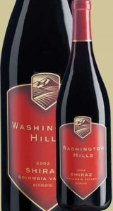 washington hills shiraz